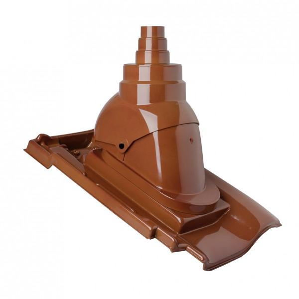 Antennendurchgangspfanne MEGA Braas Granat 13 V